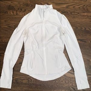 Lululemon Define Jacket - White size 6